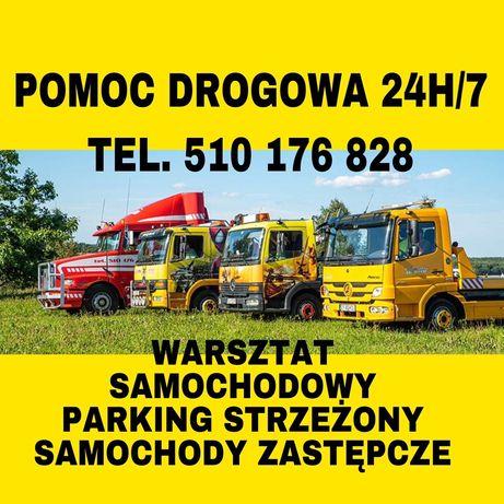 POMOC DROGOWA 24H/7 Holowanie Laweta Autolaweta Usługi Transportowe