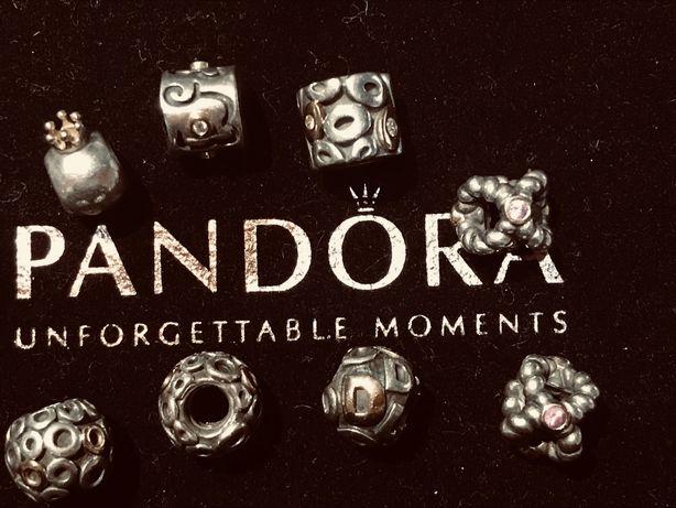 Najpiękniejsze charmsy tt ze starych kolecji Pandory
