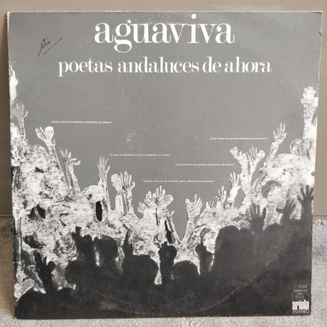 Vinil LP Aguaviva - Poetas Andaluces De Ahora