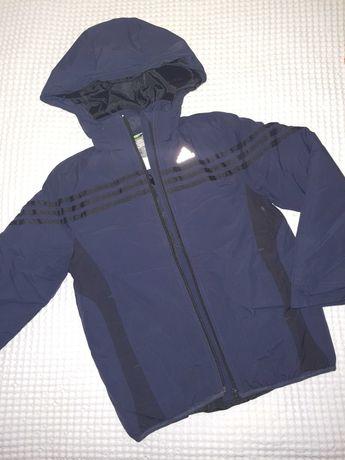 Куртка зимняя Adidas  размер 7-8  128