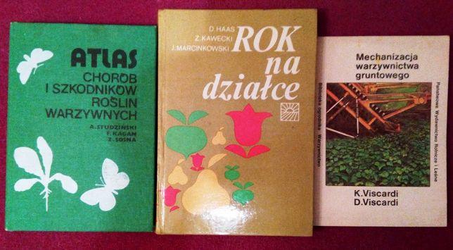Rok na działce - pakiet książek dla działkowiczów
