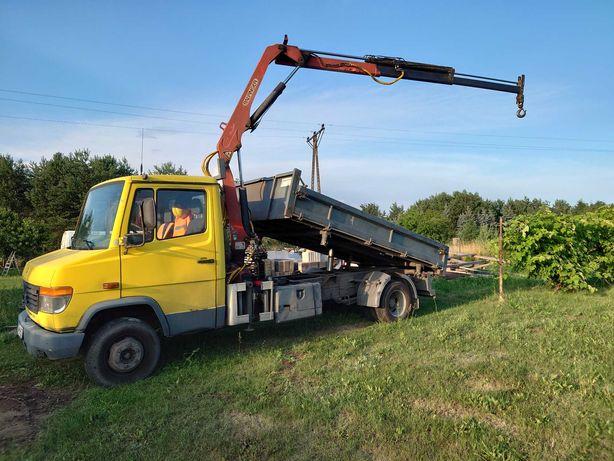 Transport Ciężarowy HDS, Wywrotka, Piach, Ziemia, Beton, Kamień, Gruz