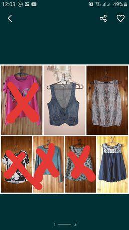 Футболки, блузи, штани,плаття, шорти 42-44р.