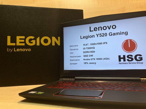 Ігровий Lenovo Legion Y520 I5-7300HQ/DDR4 8/SSD240/15.6 FullHD/ GTX105