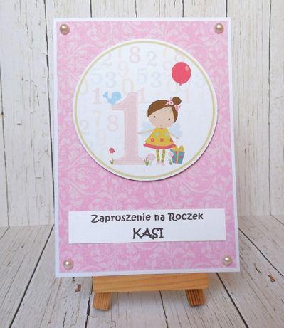 Zaproszenie / kartka na roczek