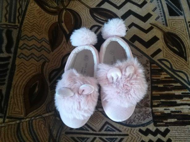 Buty króliczki dla dziewczynki