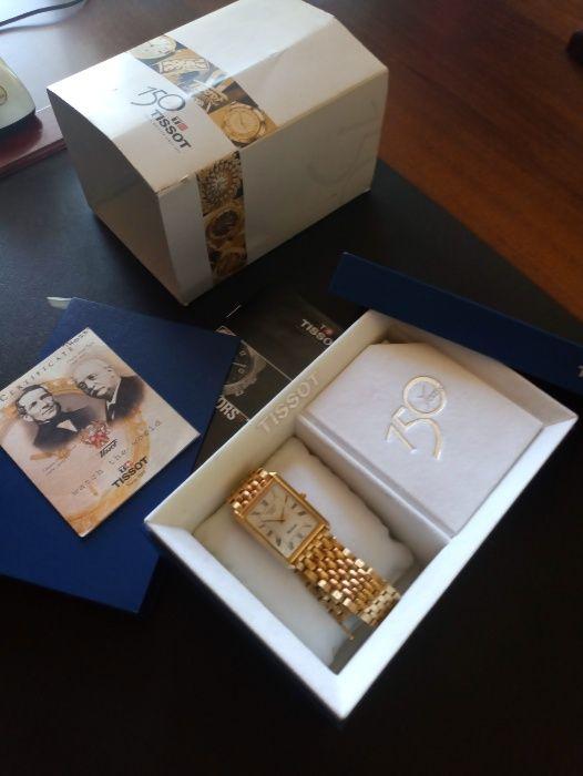 часы с браслетом швейцарские юбилейные Тиссот 150 (золото) Донецк - изображение 1