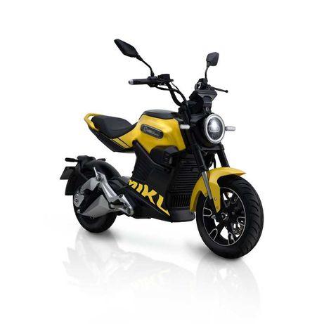 Motocykl elektryczny Miku Super iamelectric Vmax 85km/h! żółty