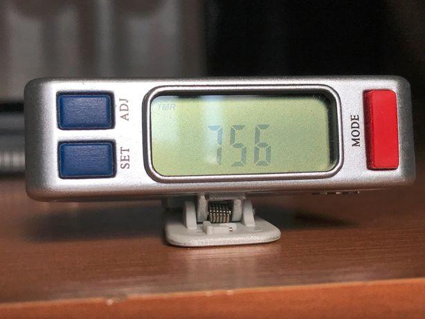 шагомер+таймер+расход калорий+пройденное расстояние+будильник