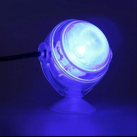 Oświetlenie nocne do akwarium RÓŻNE KOLORY lampa lampka belka LED co2