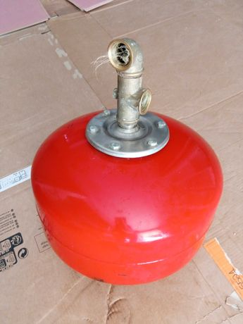 Balão de pressão de água