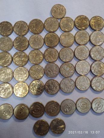 Monety dolarówki Australijskie