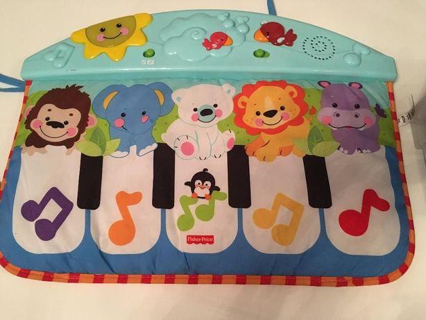 Pianino Pianinko Fisher Price baw się i kop