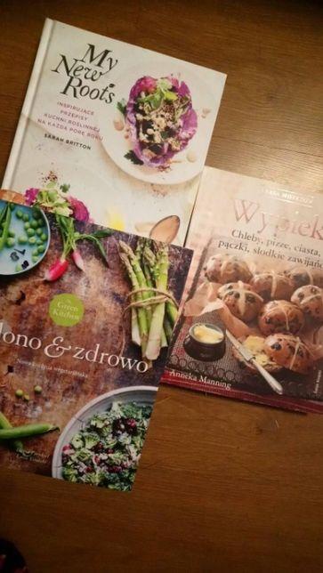 Wypieki , My new roots , zielono i zdrowo książki kulinarne