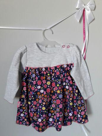 Sukienka sukieneczka z body 68