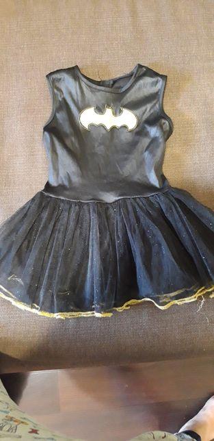 Платье Бэтмен.batman.hellovin.Бэтгёрл. Хэллоуин.