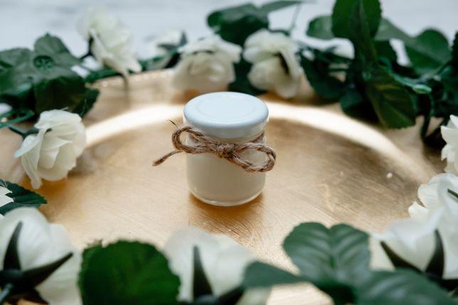 Świeczki sojowe - podziękowanie dla gości