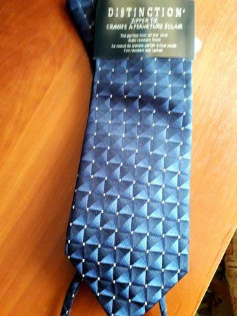 Новый! оригинальный галстук на молнии, можно на подарок!
