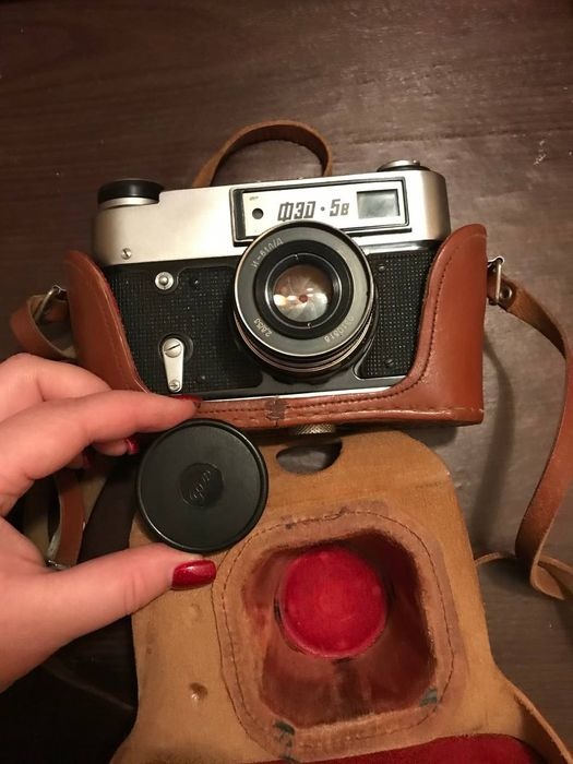 Пленочный фотоаппарат ФЭД 5в Николаев - изображение 1