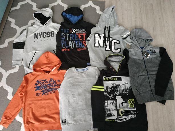 Bluzy sportowe chłopięce rozmiar 146-164