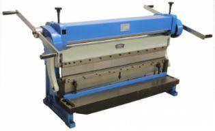 Calandra + Quinadeira + Guilhotina numa máquina só até 1067 mm