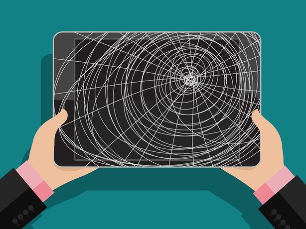Замена тачскрина сенсора дисплея iPad mini/iPad 2/3/4/Air/iPad Pro