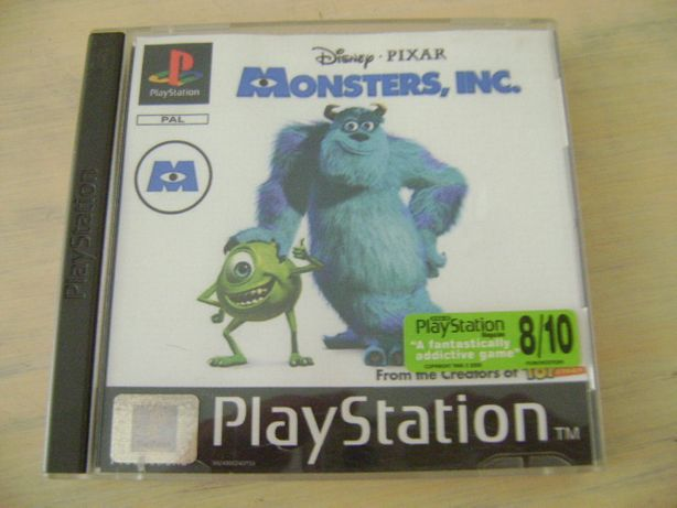 Jogo Psx Monsters Inc. 15.00
