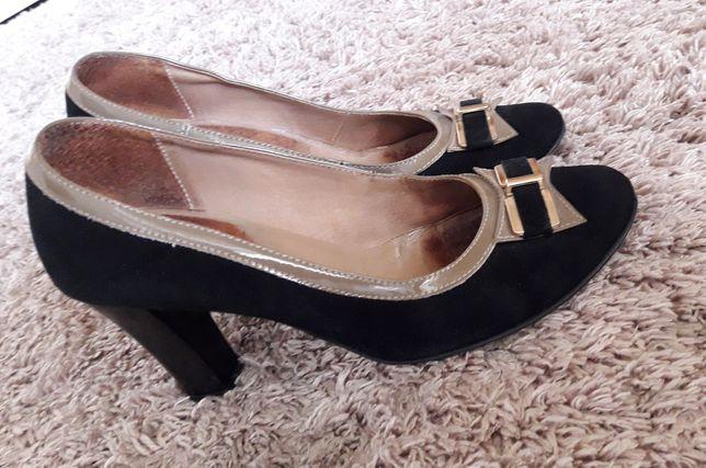 Шкіряні туфлі 40