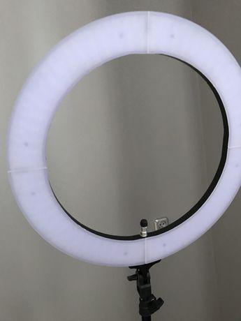 "Nowa Lampa ring 18"" LED 55W"