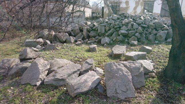 Декоративный камень бут/ гранит