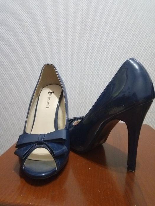 Туфлі синього кольору,37 розмір Винница - изображение 1