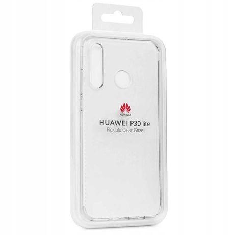 Etui Huawei P30 Lite oryginał Huawei Flexible Clear Case
