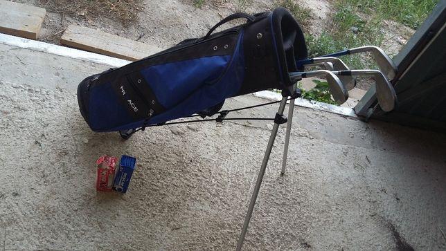 torba golfowa Proace + 5 kiji + zestaw piłek