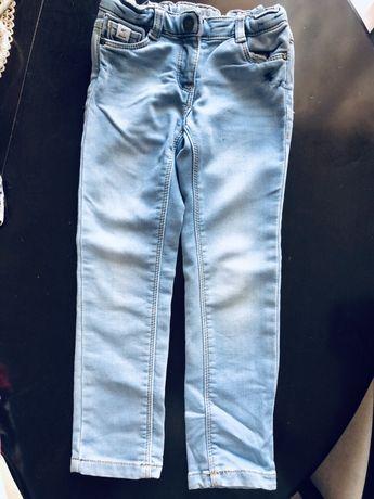 Spodnie jeansowe 104 cm Tape oleil. Wysyłka 8 zł