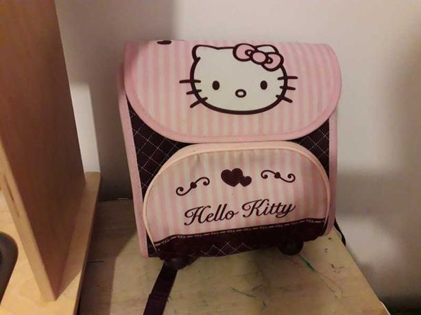 Plecak tornister hello kitty do przedszkola
