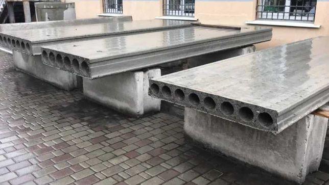 Плити перекриття і Панелі по Гуртовій ціні Виробника (плиты бетонные)