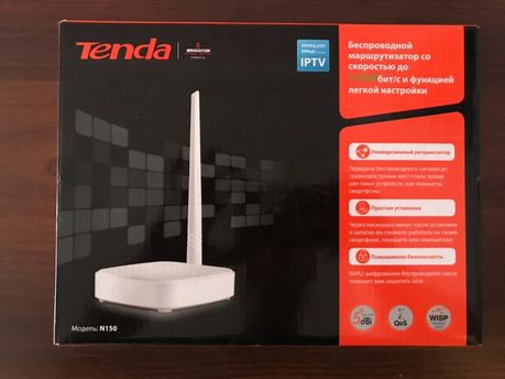 Wi-Fi роутер Tenda N150