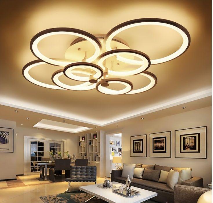 Lampa LED RING LAMPA sufitowa PLAFON ring 2*4 W Radziejów - image 1