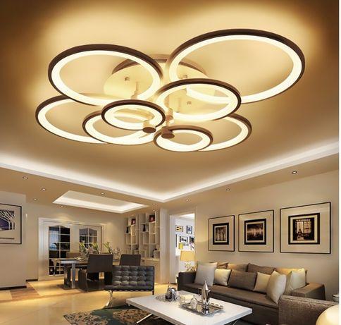 Lampa LED RING LAMPA sufitowa PLAFON ring 2*4 W