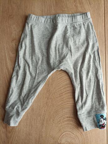 Spodnie szare h&m t 74