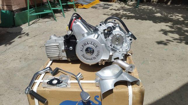 Двигатель мопеда Дельта,Альфа,Актив 50,72,110,125сс Гарантия-Оригинал