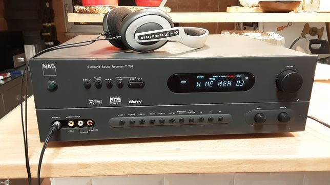 NAD T751 Surround Sound Receiver