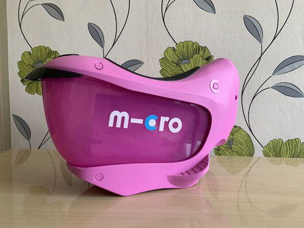 Сиденье для самоката Micro Mini2go Deluxe Plus Pink