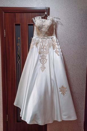 Свадебное платье не венчанное