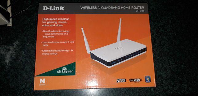 router Wi-Fi Dual Band DIR-825 D-Link 1Gbit