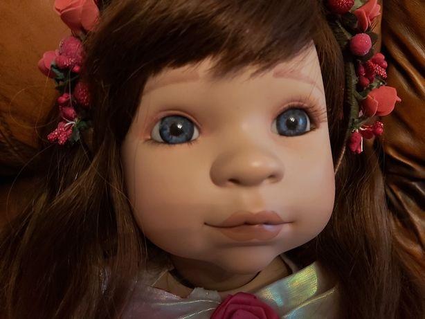 Кукла как настоящий ребёнок большая реборн 70 см 2100 гр очень крутая