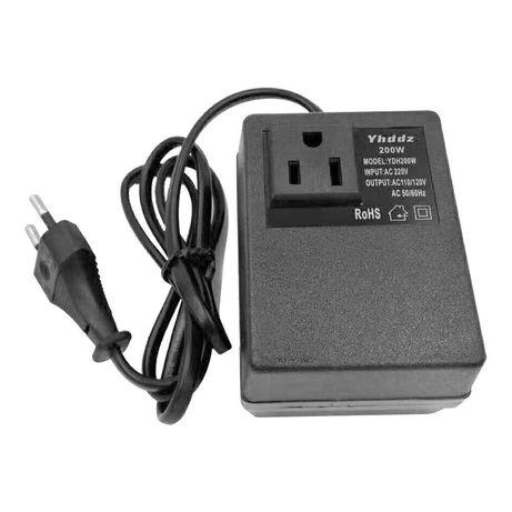 Conversor de corrente elétrica - AC 220V - AC 110V/220V - 50/60Hz