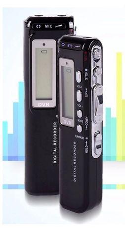 DYKTAFON Cyfrowy USB Detekcja dźwięku VOX MP3 8GB MIC Głośnik