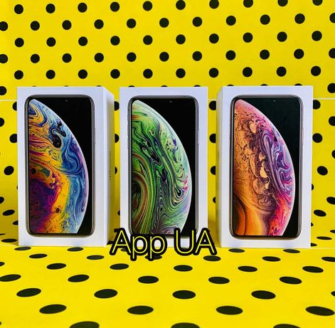 New iPhone XS MAX 64Gb 256Gb Space Gray Silver Gold Black White
