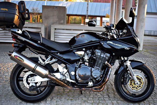 Suzuki Bandit 1200 S 42970km+SERWIS+NOWE OPONY Akrapovic Bezwypadkowy!